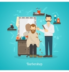 Barber Shop Color vector