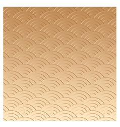 gold oriental texture vector image