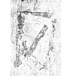 grunge peeled texture vector image