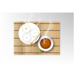 isolated cup of coffee collection set of various vector image