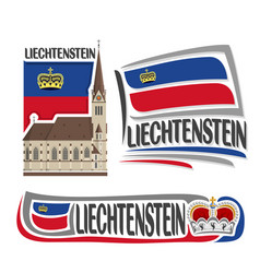 Logo for liechtenstein vector