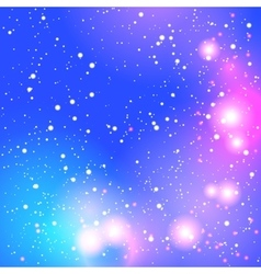 Abstract blurred purple background with bright vector image