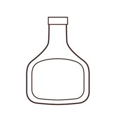 Bottle plastic ingredient cooking restaurant thin vector