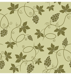 grapes seamless vector image vector image