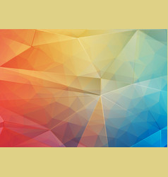 Abstract background with gradient triangle shapes vector