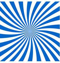 blue and white spiral design background vector image