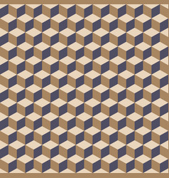 cube seamless pattern background vector image