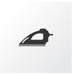 iron icon symbol premium quality isolated vector image