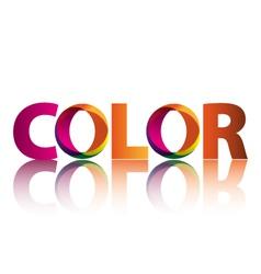 Logo color vector