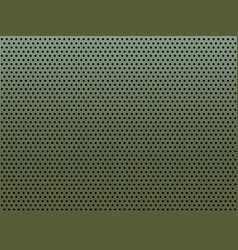 perforated metal plate with round holes vector image