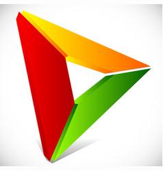play button generic arrow pointer cursor icon or vector image