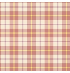 Seamless background of plaid pattern vector image
