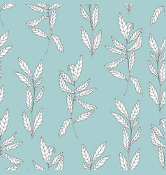seamless pattern on a turquoise background for vector image