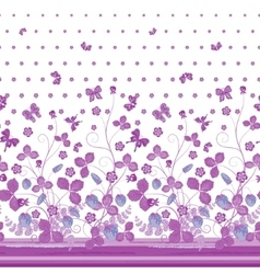 seamless vertical pattern with Decorative vector image