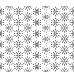 subtle geometric ornament seamless pattern vector image