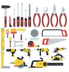 tools big set vector image