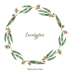 Watercolor decorative elements vector