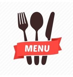 Menu restaurant icons vector image vector image