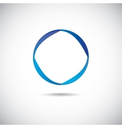 Abstract circle vector image vector image