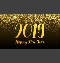 2019 new year banner vector