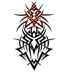 Abstract fantasy dragon vector