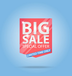 Big sale special offer best price label vector