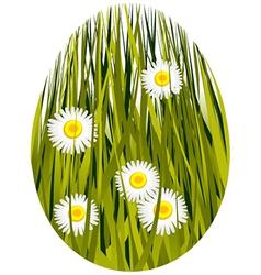 Easter spring egg vector image