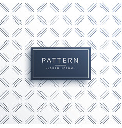 Elegant geometric lines pattern vector