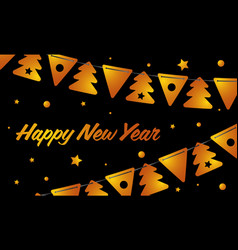 Festive background happy new year new year card vector