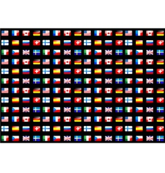 national flags vector image