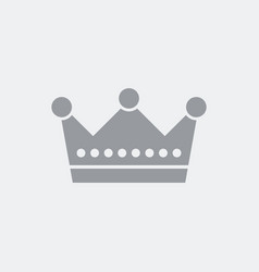 rotal crown vector image