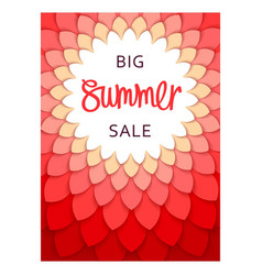 Summer sale template design vector