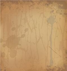 Grunge paper background vector image