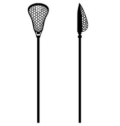 Lacrosse stick vector