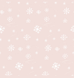 winter seamless pattern texture with vector image vector image
