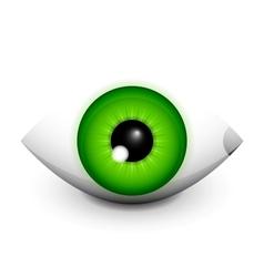 Hi-tech eye concept icon design vector image
