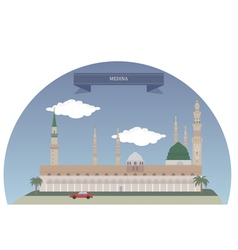 Medina vector image vector image