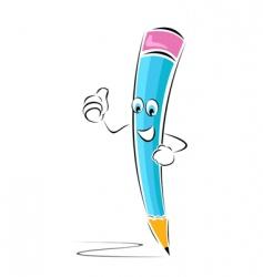 successful pencil vector image vector image