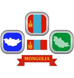 symbol of Mongolia vector image