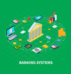 Banking industry round composition vector