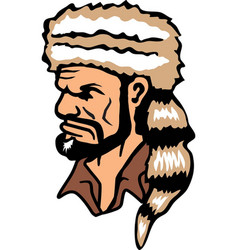 pioneer logo mascot vector image