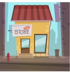 Retro Store vector