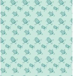 Sea turtles vector