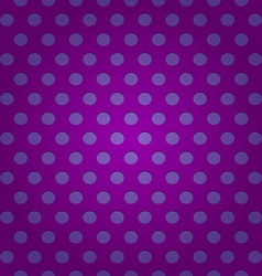 Seamless purple polka dots pattern vector