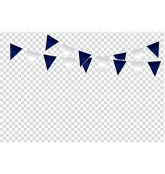 triangular flag color ideas design vector image