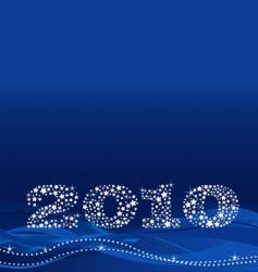 Christmas 2010 design vector image vector image