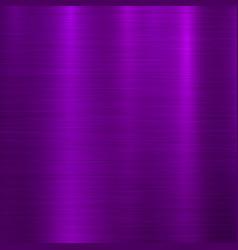 violet metal technology background vector image