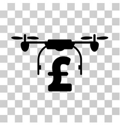 drone pound business icon vector image