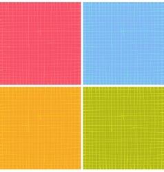 liquid organic stripe grid pattern in multi color vector image