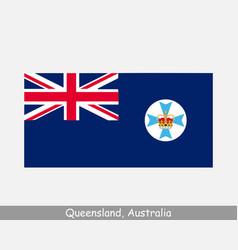 Queensland australia flag qld au state vector